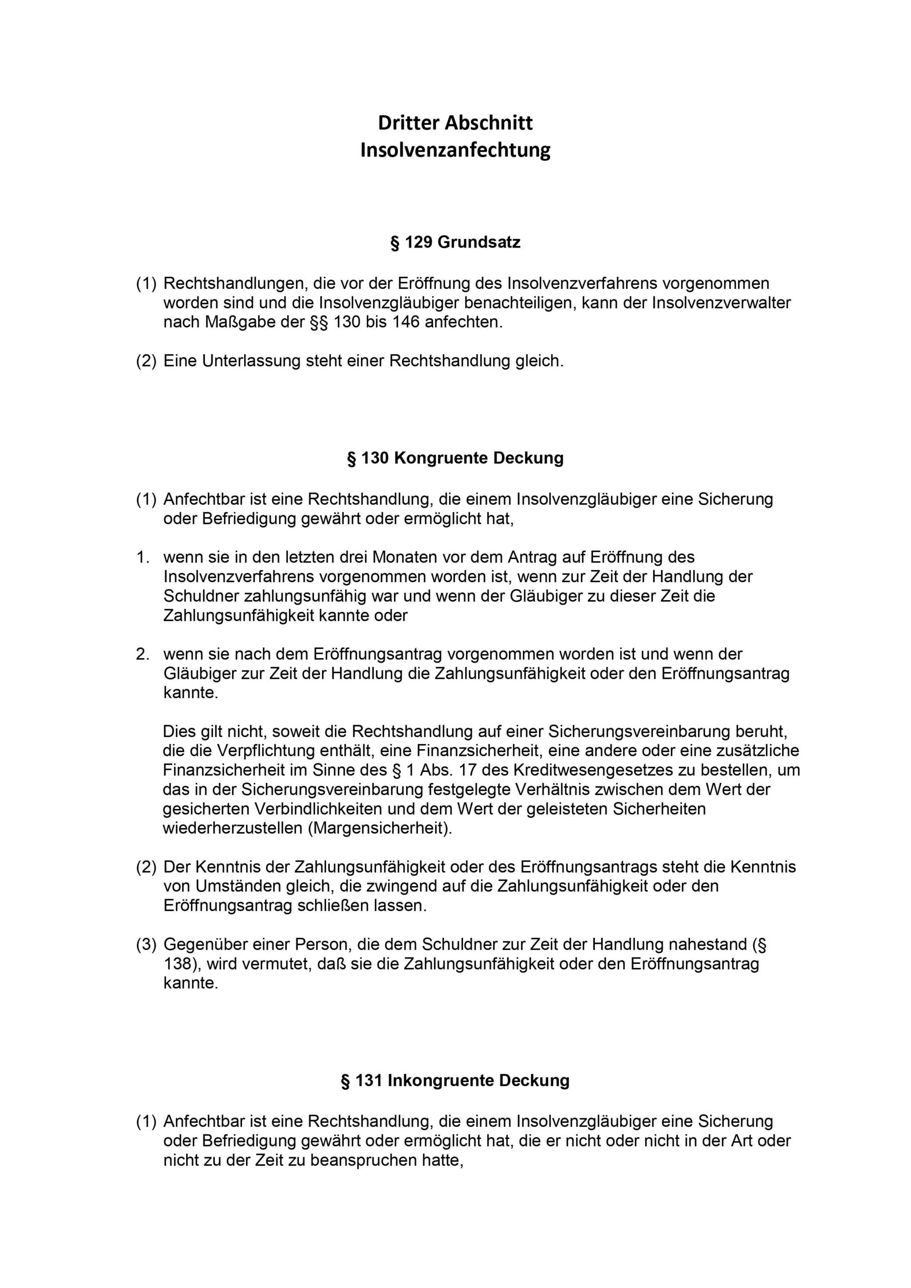 6. Tipp zur Immobilienrettung: Vorsicht vor Anfechtung nach AnfG und InsO